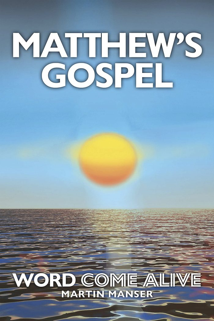 Matthew's Gospel cover