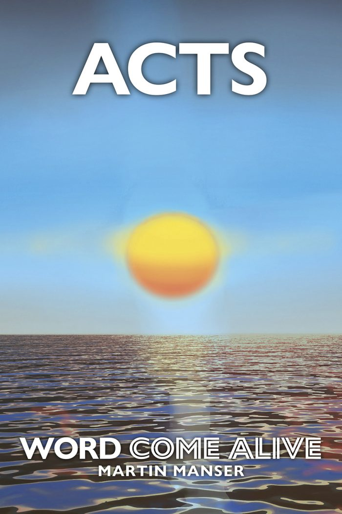 The book of Acts cover image